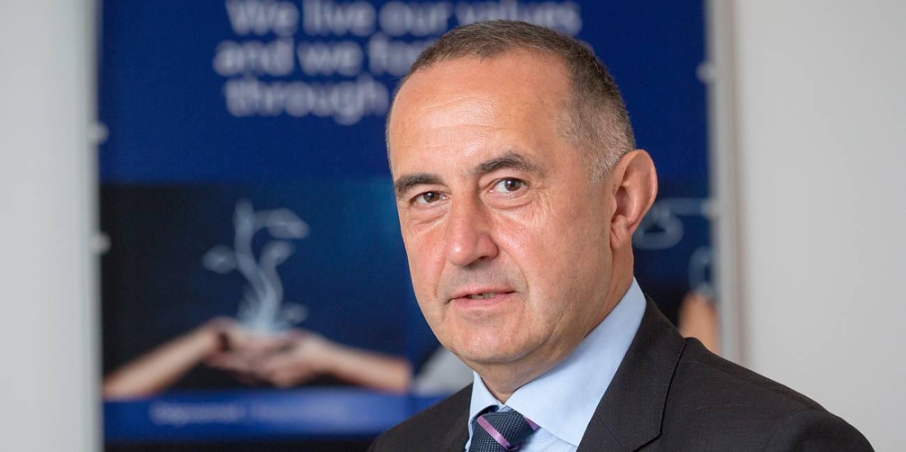 Jože Ponikvar, direktor ljubljanskega podjetja Kolektor Igin