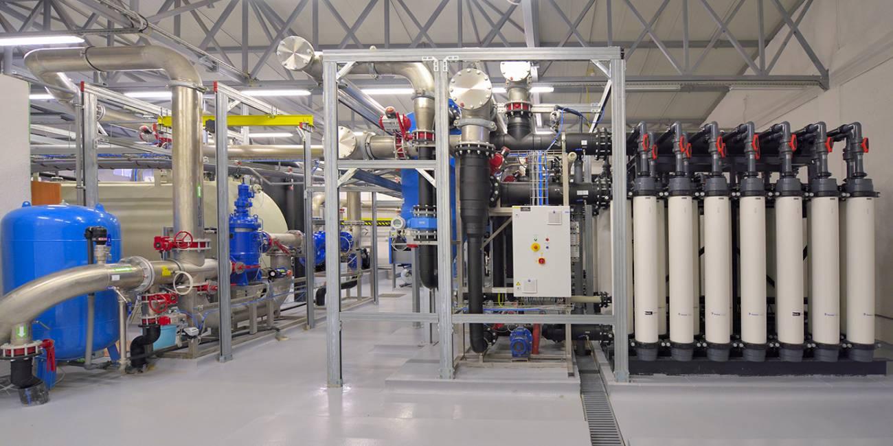 Sodobna priprava pitne vode z ultrafiltracijo