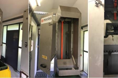 Vgradnja grabelj za zaščito črpalk v črpališču